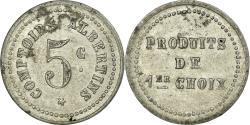 World Coins - Coin, France, Comptoirs Albertins, Albert, 5 Centimes, , Aluminium