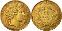 World Coins - Coin, France, Cérès, 20 Francs, 1851, Paris, , Gold, KM:762