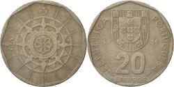 World Coins - Portugal, 20 Escudos, 1989, Lisbon, , Copper-nickel, KM:634.1