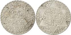 World Coins - MOROCCO, 1/4 Rial, 2-1/2 Dirhams, 1903, KM #20.2, , Silver, 25, 6.18