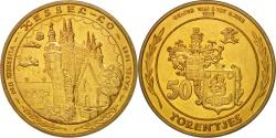 World Coins - Belgium, Token, Touristic token, Kessel-Lo, 50 Torentjes, 1981,