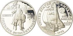 Us Coins - Coin, United States, Dollar, 1992, U.S. Mint, Philadelphia, Proof,