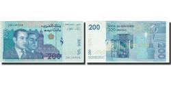 World Coins - Banknote, Morocco, 200 Dirhams, KM:71, UNC(65-70)