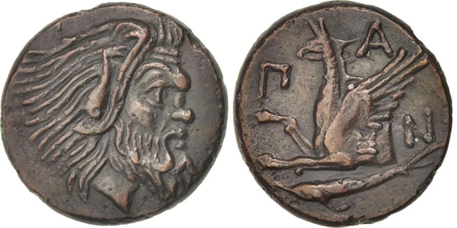 Ancient Coins - Thrace, Pantikapaion, Bronze, , SNG BM 869