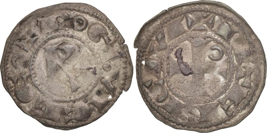 World Coins - Languedoc, Vicomté de Béziers, Roger II, Denarius, , Silver