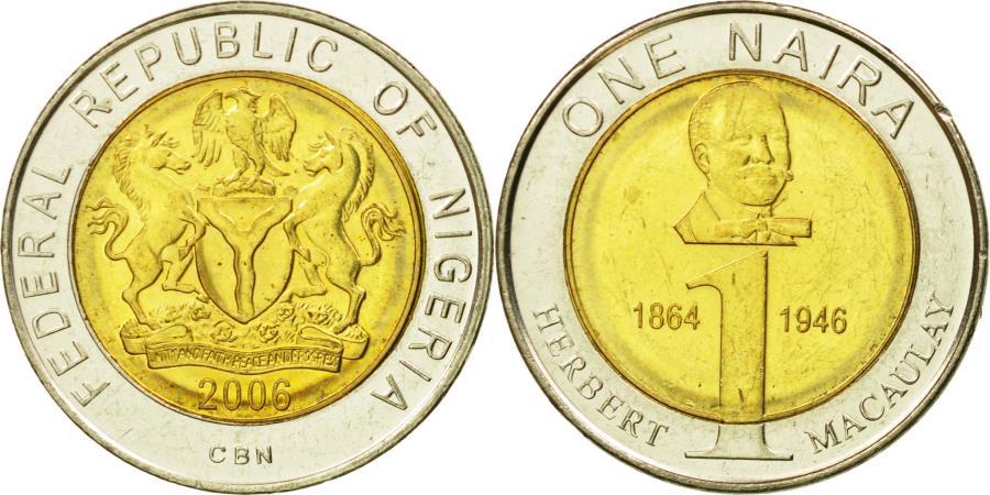 Coin, Nigeria, Naira, 2006, , Bi-Metallic, KM:18