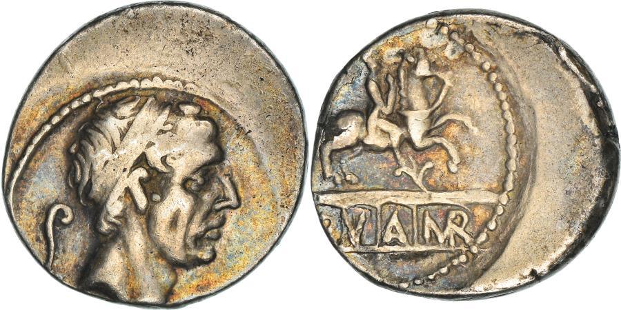 Ancient Coins - Coin, Marcia, Denarius, 56 BC, Roma, , Silver, Babelon:28