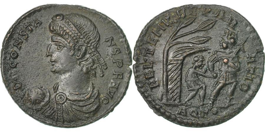 Ancient Coins - Coin, Constans, Maiorina, 348-350, Aquileia, , Bronze, RIC:103