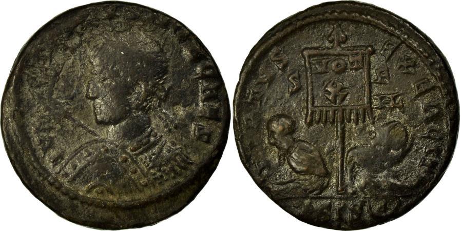 Ancient Coins - Coin, Crispus, Nummus, Siscia, EF(40-45), Copper, Cohen:166