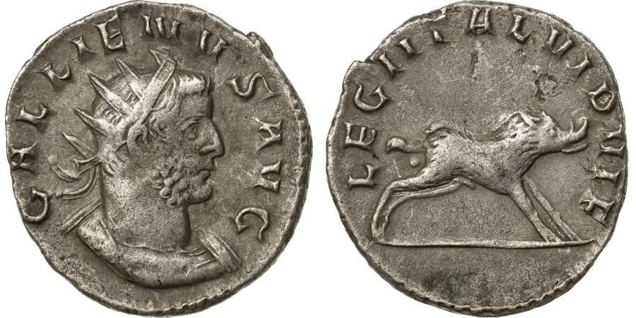 Ancient Coins - Coin, Gallienus, Antoninianus, 257-258, Milan, Rare, , Billon, RIC:320
