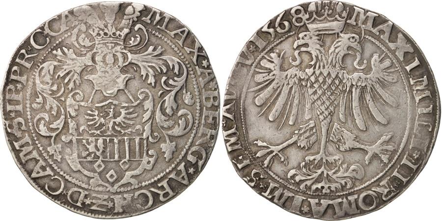 World Coins - German States, Archevêché de Cambrai, Thaler, 1568, Cambrai, , Silver