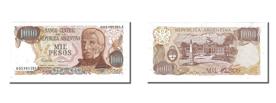 World Coins - Argentina, 1000 Pesos, 1976, KM #304b, UNC(65-70), R
