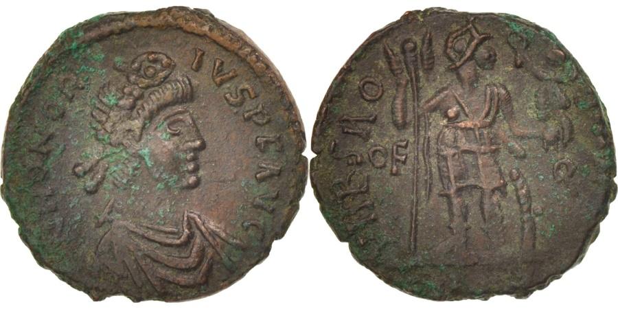 Ancient Coins - Honorius, Nummus, 402-408, Roma, , Copper, RIC:1280