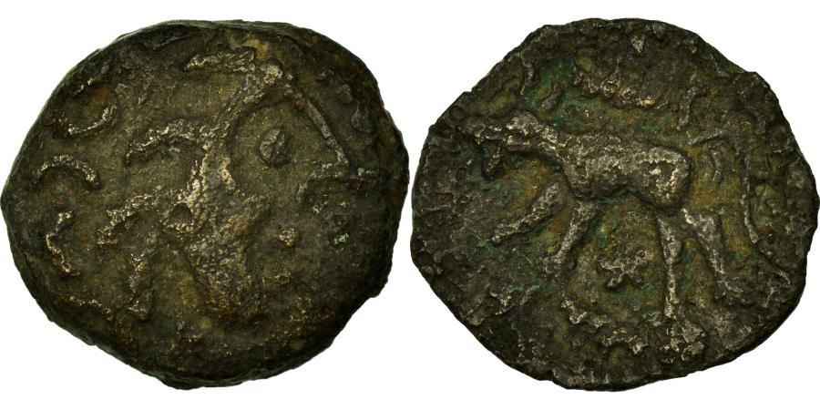 Ancient Coins - Coin, Carnutes, Bronze, 60-40 BC, , Bronze, Delestrée:2608