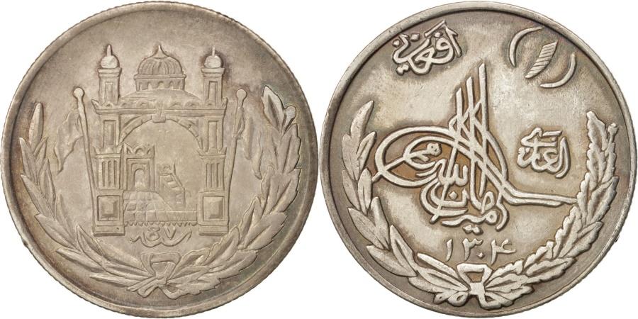 World Coins - Afghanistan, Amanullah, Afghani, 100 Pul, 1925, Afghanistan, Silver, KM:910