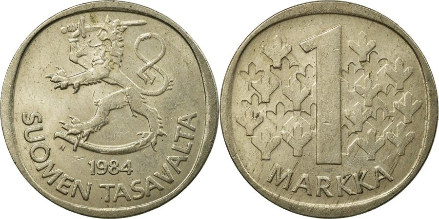 World Coins - Coin, Finland, Markka, 1984, , Copper-nickel, KM:49a
