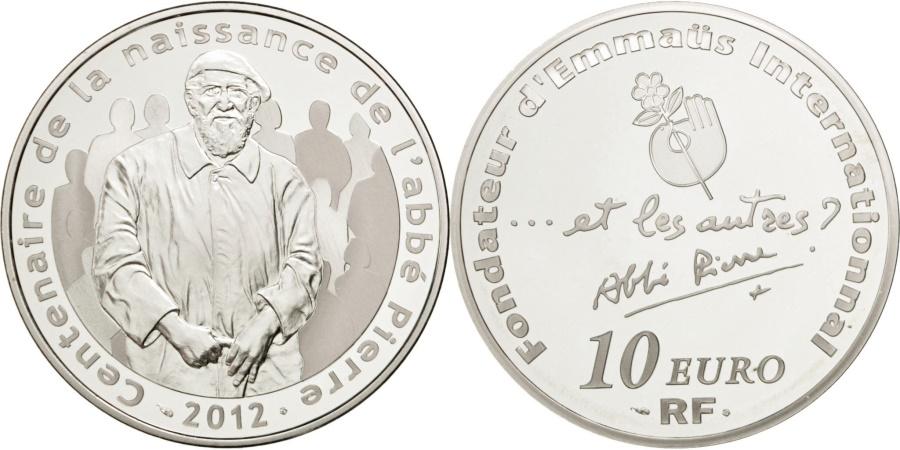 World Coins - FRANCE, 10 Euro, 2012, Paris, KM #1895, , Silver, 37, 22.20