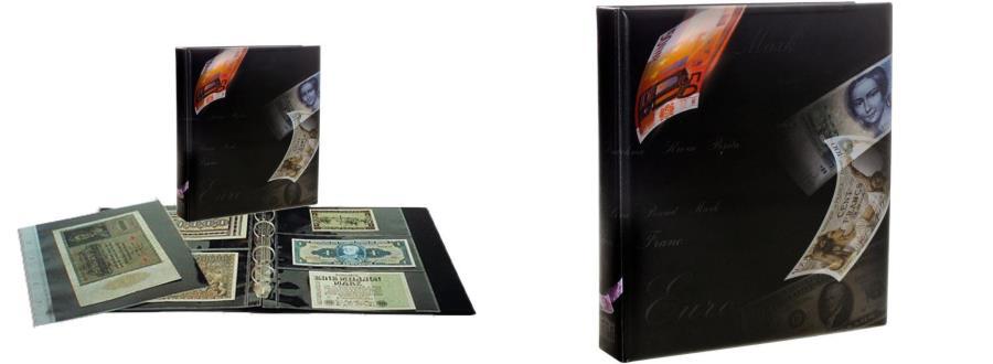 World Coins - Album, Artline, Pour Billets avec 10 pages, Safe:1269