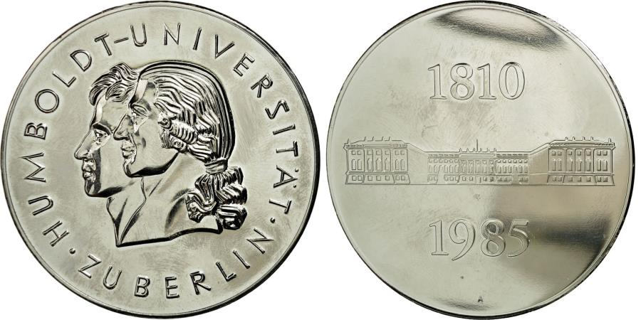 World Coins - Germany, Medal, Humboldt Universität, Zu Berlin, 1985, , Copper-nickel