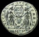 Ancient Coins - Magnentius - VICTORIAE DD NN AVG ET CAES, Rome - 21 mm / 4,48 gr.