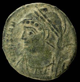 Ancient Coins - Constantine I - Constantinopolis, Arles - 15 mm / 1.82 gr.