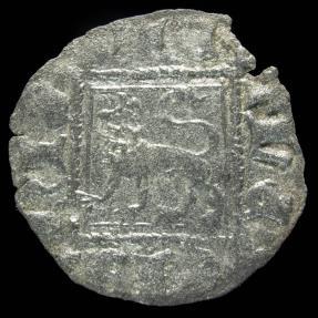 Ancient Coins - Noven Alfonso XI, Sevilla Mint (BAU 486) - 18 mm / 0.63gr.