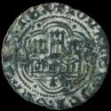 Ancient Coins - Blanca John II, Burgos Mint (BAU 813.1) - 22 mm / 1.57 gr.