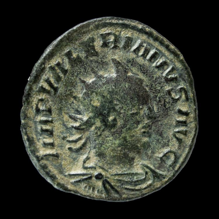 Ancient Coins - Valerian -PM TR P V COS IIII PP - 21 mm / 3.32 gr