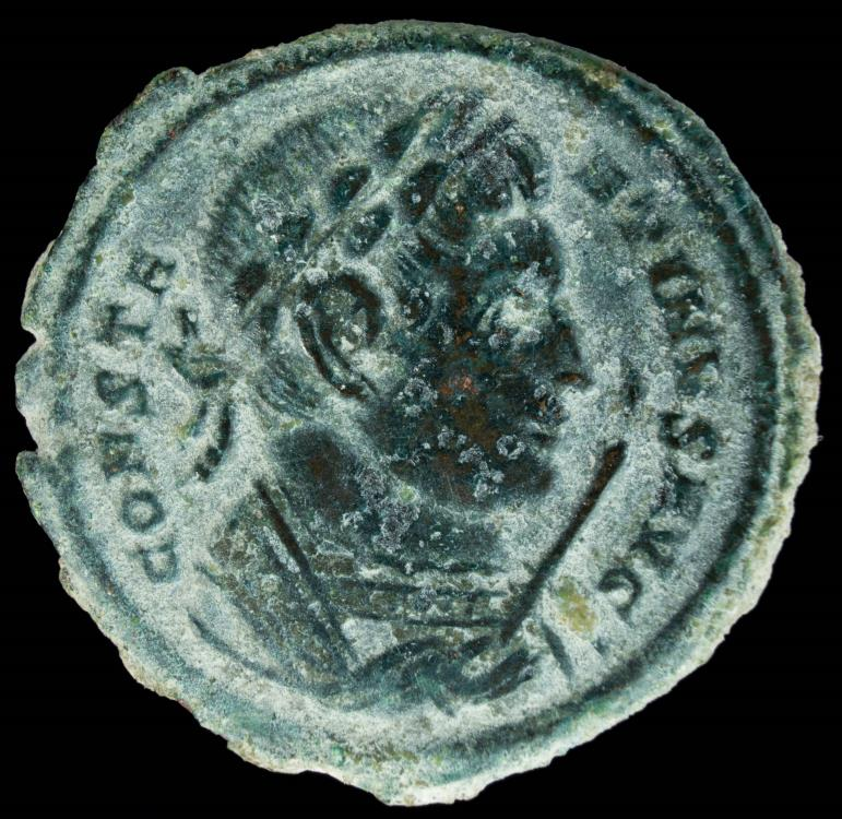 Ancient Coins - Constantine II - BEATA TRANQVILITAS, Trier - 20 mm / 3.36 gr.