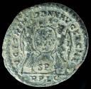 Ancient Coins - Magnentius - VICTORIAE DD NN AVG ET CAES, Lyon - 24 mm / 4.97 gr.
