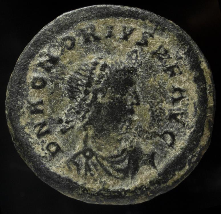 Ancient Coins - Honorius - GLORIA ROMANORVM, Cizico - 22 mm / 4.58 gr.
