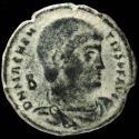 Ancient Coins - Magnentius - VICTORIAE DD NN AVG ET CAES, Rome - 22 mm / 5,31 gr.
