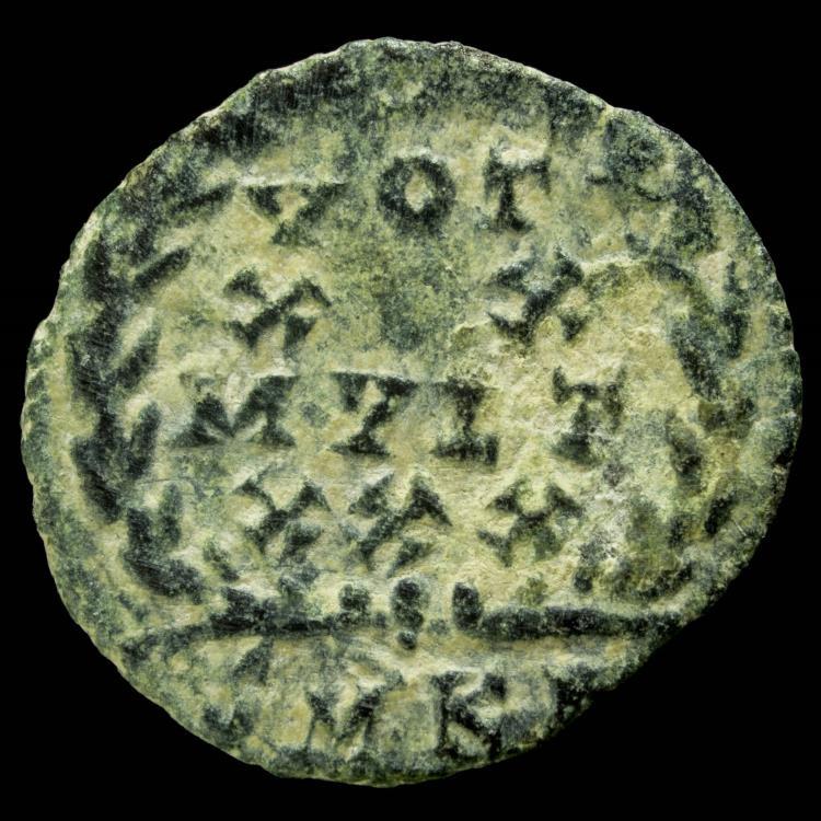 Ancient Coins - Constans - VOT XX MVLT XXX, Cizico - 14 mm / 1.12 gr.