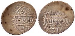 World Coins - OTTOMAN MEHMED I AR AKCHE 808 AH AMASYA MINT 18 MM & 1.2 GR