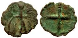 Ancient Coins - CRUSADER ANONYMOUS Æ FOLLIS 0.4 GR & 10,56 MM