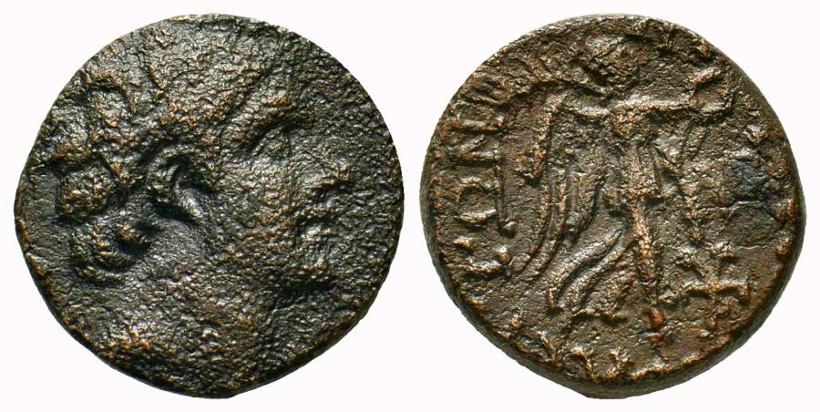 Ancient Coins - CILICIA SOLOI POMPEIOPOLIS 66 - 48  BC. Æ 19 MM & 7.3 GR