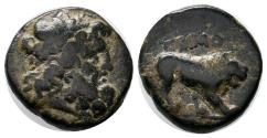 Ancient Coins - KINGS of COMMAGENE SAMOSATA 38 - 31 BC. Æ 7.2 GR & 19 MM