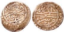 World Coins - OTTOMAN MURAD II AR AKCHE AH 834 SEREZ MINT  1.1 GR & 13 MM