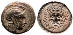 Ancient Coins - KINGS of THRACE MACEDONIAN LYSIMACHOS Æ 2.1 GR & 12,75 MM