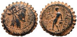 Ancient Coins - SELEUKID KINGS of SELEUKOS IV Æ ANTIOCH MINT 10.6 GR & 22 MM