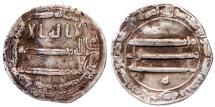 World Coins - ABBASID AR DIRHAM AH 197 MADINAT AL SALAM 2.8 GR & 20 MM