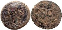 OTHO AD 69 SYRIA ANTIOCH Æ AS 13.0 GR & 30,23 MM