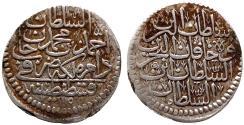 World Coins - OTTOMAN AR 20 PARA of AHMED III AH 1115 KONSTANTINIYE 9.6 GR & 28,81 MM