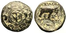 Ancient Coins - SELEUKID KINGS of SYRIA ANTIOCHOS I Æ 5.9 GR & 18,68 MM