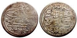 World Coins - OTTOMAN AR 10 PARA of MAHMUD I AH 1143 QOSTANTINIYE 4.9 GR & 25,44 MM