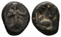Ancient Coins - ACHAEMENID KINGDOM DARIOS I to XERXES II AR SIGLOS