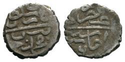 World Coins - OTTOMAN AR AKCHE of BAYAZID II AH 886 AMASYA MINT  11 MM & 0.8 GR