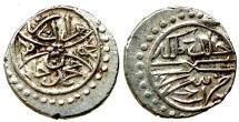 World Coins - OTTOMAN  AR AKCE of MURAD II AH 834 SEREZ  1.1 GR & 13,20 MM