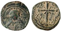 Ancient Coins - BYZANTINE ANONYMOUS Æ FOLLIS of NICEPHORUS III 1078-1081 AD CONSTANTINOPLE MINT 5.0 GR & 22 MM
