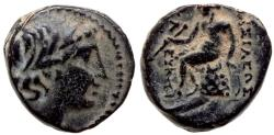 Ancient Coins - SELEUKID EMPIRE ANTIOCHOS  I SOTER Æ 3.4 GR & 14,21 MM